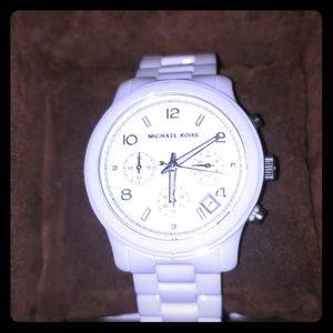 Michael Kors MK5161 Ceramic Runway watch - NEW!